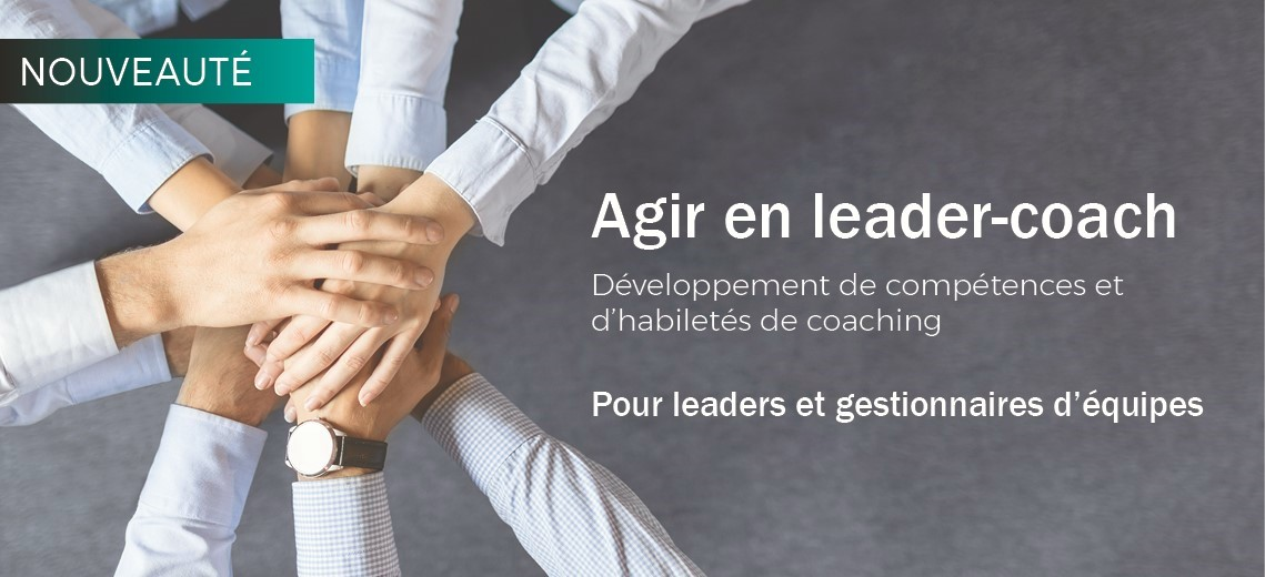 Agir en leader-coach