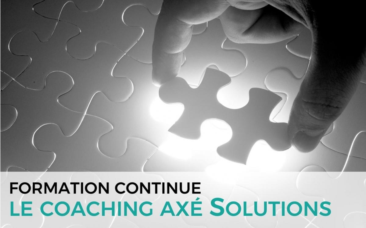 Le coaching axé Solutions
