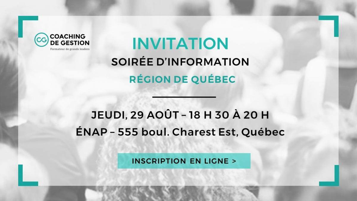 Formation Coaching Québec