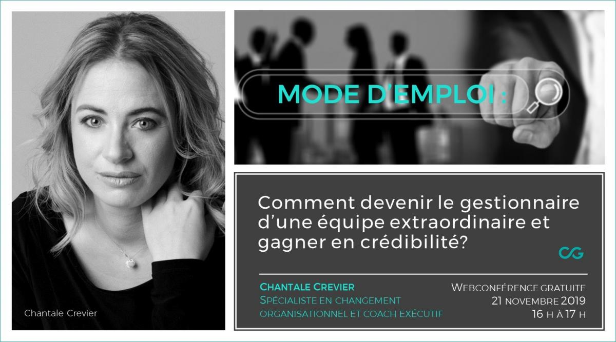 Chantale Crevier - Coaching de Gestion